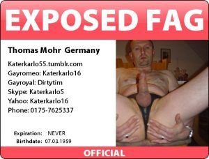 Thomas Mohr ready for exposed