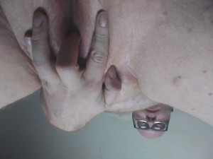 Bald poz faggot slut begging for exposure with no restrictions