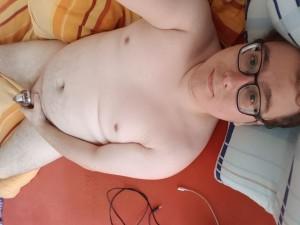 Chastity faggot slave