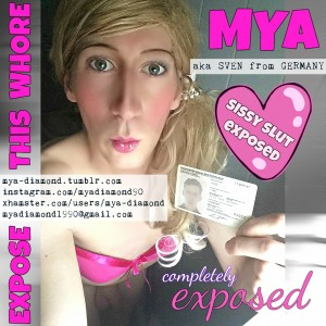 Mya aka Sven from Germany fully exposed with ID Card - EXPOSE HIM!