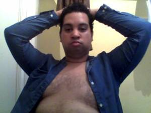 CHUBBY FAGGOT WITH SMALL DICK EXPOSED