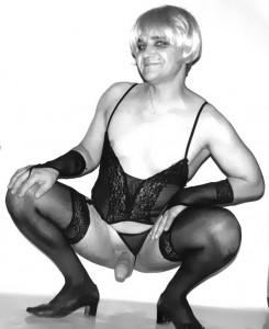 Vintage photo Russian fag-lady Valery