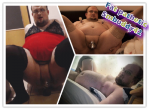 Another Truly Pathetic Fat Faggot!