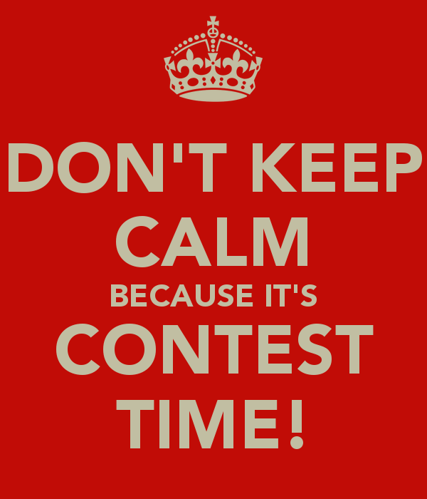 Time for a new contest - Comment suggestions.