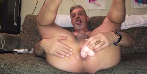 Ron Oostland Dildo in My Ass