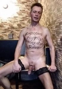Sissy faggot Raivo Eskola