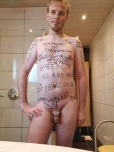 Marked Faggot