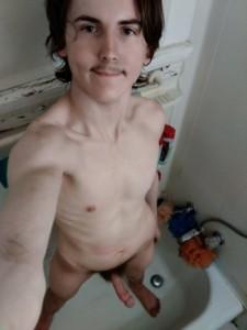 Twink nudist Kage Frederick