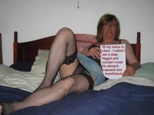 sissy fag clare