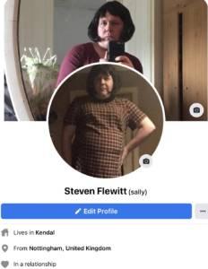 Steven flewitt Facebook