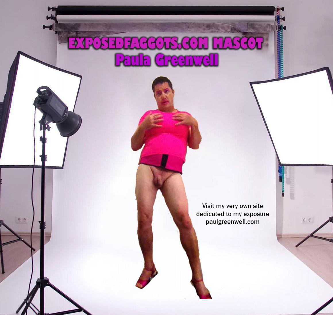 EXPOSEDFAGGOTS.COM MASCOT PAUL GREENWELL