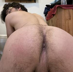 Faggot showing some ass