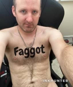 pathetic faggot simon