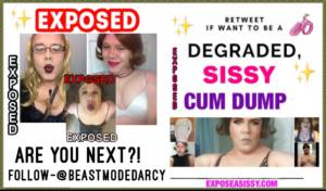 exposed cum dump