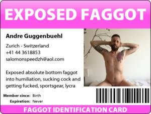 swiss faggot Andre ID