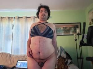 Tinny sissy clit Joshua Gonzalez