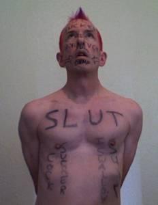 submissive faggot