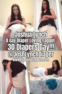 Joshua Lynch | 30 Day Diaper Faggot Challenge