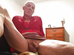 old fag showing his cock
