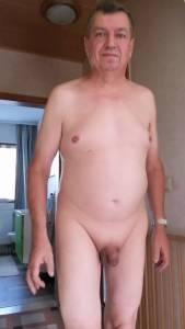 Faggot Bernd shows us his little Dick
