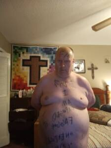 Fat fag deserved toilet and fat ass expisures