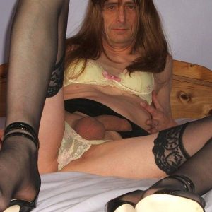 My Cross-dressing Sissy Slut Tom Chapman