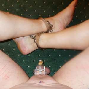 faggotsissyiris whipped and locked