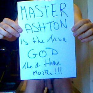 Working hard for Master Ashton