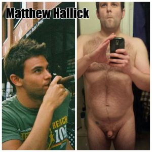 Matt Hallick exposed faggot