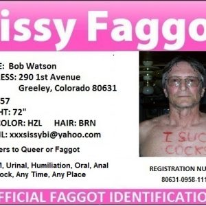 Exposed Faggot : Bob Watson
