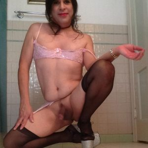 Oscar Gonzalez Tranny Shows her Clit.Expose This Trans Slut !