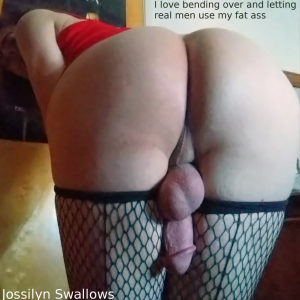 Shove your cock in my fat ass