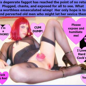 SarahZoccola degrade and expose this sissy