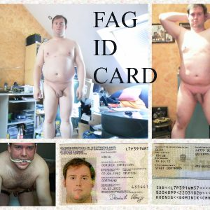 This fag wants you to know all his information
