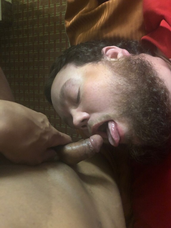 Adam sucking bbc